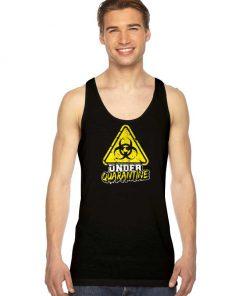 Under Quarantine Coronavirus Radioactive Logo Tank Top