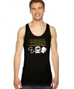 Virus Corona Wars Parody Star Wars Tank Top