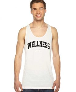 Wellness Sporty And Rich Jersey Logo Tank Top