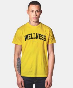 Wellness Sporty And Rich Jersey Logo T Shirt