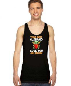 Baby Yoda Best Husband Love You I Do Tank Top