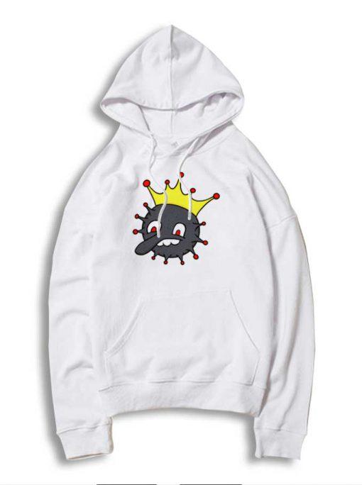 Corona King Coronavirus King Of Virus Hoodie
