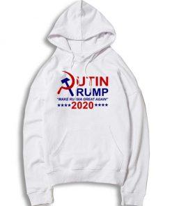 Putin Trump 2020 Make Russia Great Again Hoodie