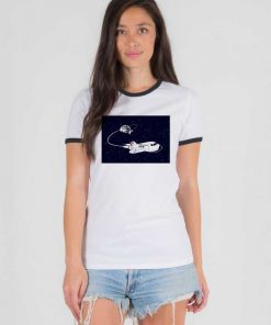 SpaceX Launch NASA Space Shuttle Ringer Tee