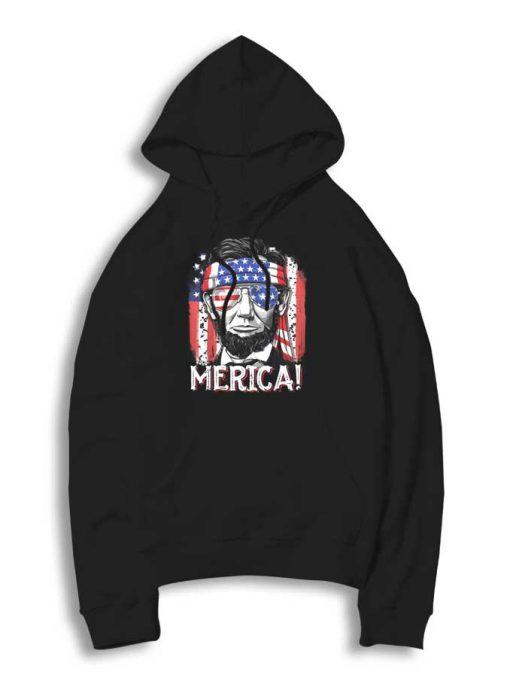 Abraham Lincoln The America Flag Hoodie