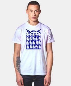 Bjork Rock Electronic Photo Collage T Shirt