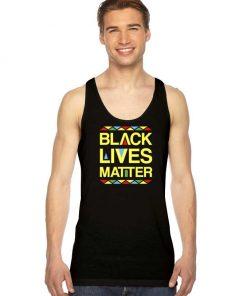 Black Lives Matter Equality No Racism Tank Top