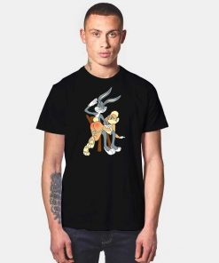 Bugs Bunny and Lola Butt Slap T Shirt