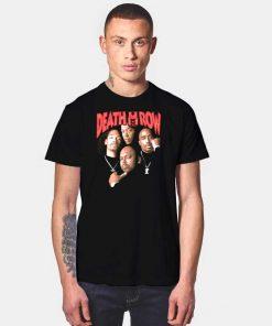 Death Row Records Old School Rapper T Shirt