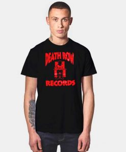 Death Row Records Red Electric Chair T Shirt
