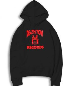 Death Row Records Red Electric Chair Hoodie