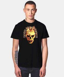 Harley Davidson 1903 Blazing Skull Logo T Shirt