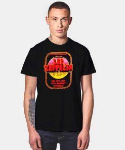 Led Zeppelin 1971 Wembley Concert Poster T Shirt