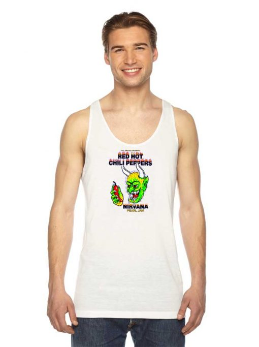 Red Hot Chili Peppers Nirvana Pearl Jam Tank Top