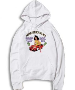 Retro I Can't Stand Broke Ass Men Quote Hoodie