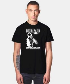 Biohazard Here Is Justice Here Is Punishment T Shirt