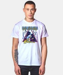 Def Leppard Hysteria Band Logo T Shirt