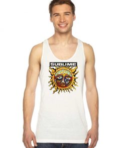 Sun Sublime 40oz To Freedom Band Tank Top