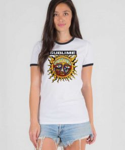 Sun Sublime 40oz To Freedom Band Ringer Tee