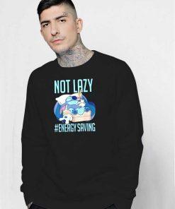 Disney Lilo & Stitch Not Lazy Energy Saving Sweatshirt