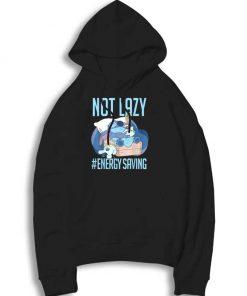 Disney Lilo & Stitch Not Lazy Energy Saving Hoodie
