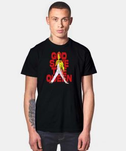 God Save The Queen And Freddie T Shirt