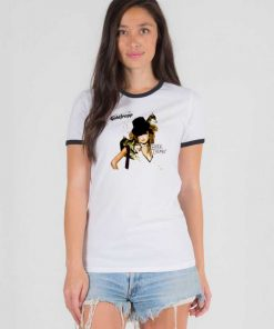 Goldfrapp Black Cherry Dogs Girl Ringer Tee