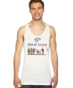 House Stark Iron Man Game Of Throne Tank Top