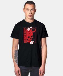 Japanese Demon Art Face Oni T Shirt