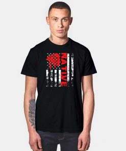 Native People American Indian Flag T Shirt