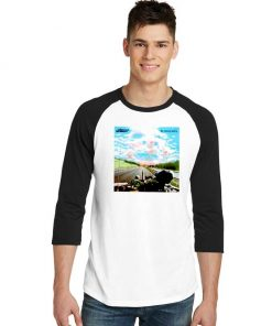 The Chemical Brothers Neo Geography Sky Raglan Tee