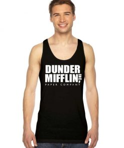 The Office Dunder Mifflin Paper Company Tank Top