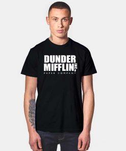 The Office Dunder Mifflin Paper Company T Shirt