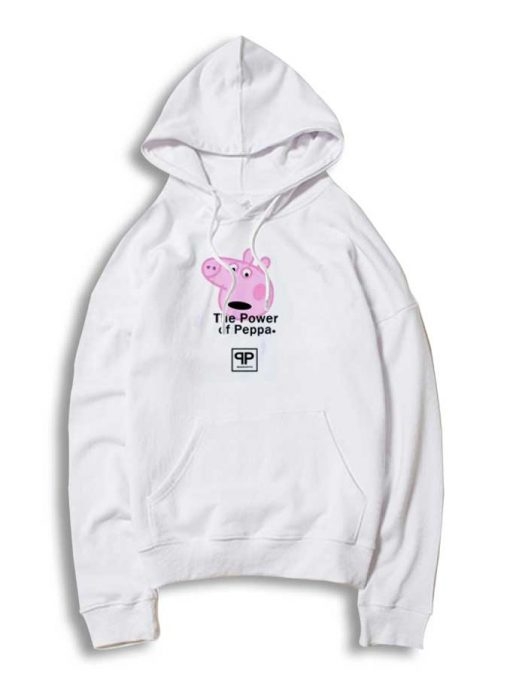 The Power Of Peppa Pig Head Hoodie