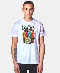 Vintage The Beatles Lonely Hearts Sergeant T Shirt