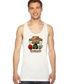 Get Your Halloween Masks Giveaway Tank Top