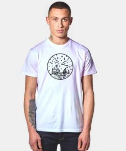 Hogwarts Castle Sky Picture Drawing T Shirt
