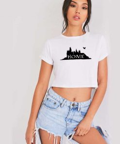 Hogwarts Is Home Of Magic And Fantasy Crop Top Shirt