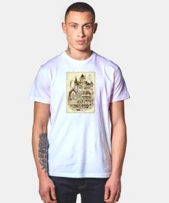 Hogwarts Magic School Diagram Picture T Shirt
