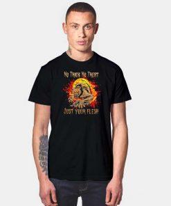 No Trick No Treat Halloween Werewolf T Shirt