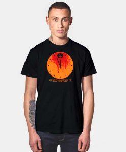 Pumpkin Clock Counting Down To Halloween T Shirt