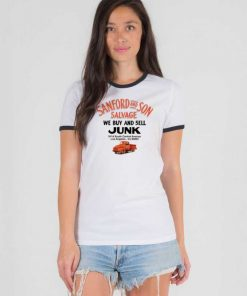 Sanford And Son Salvage Junk Ringer Tee
