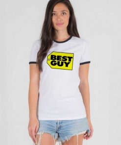 Who Is The Best Guy Price Tag Ringer Tee