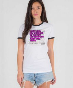 You Should Care About Other People Quote Ringer Tee