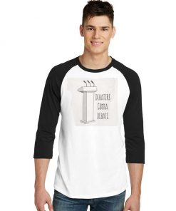Debaters Gonna Debate Election Raglan Tee