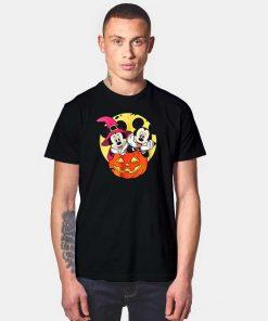 Disney Mickey and Minnie Halloween Night T Shirt
