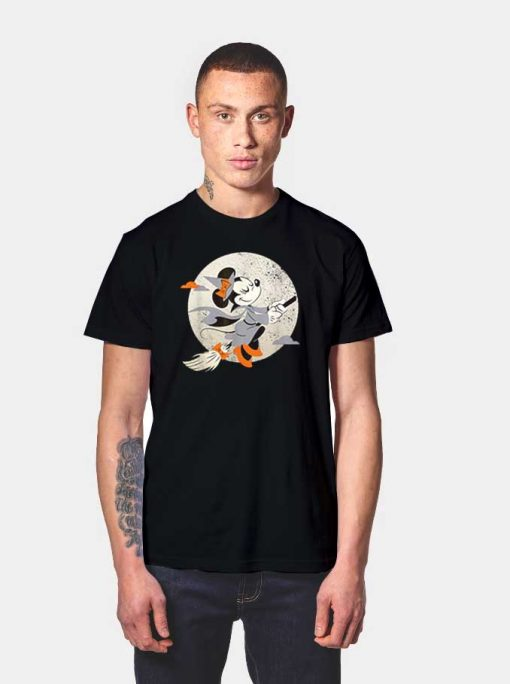 Disney Minnie Mouse Witch Halloween T Shirt