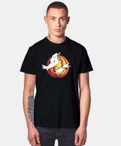 Ghostbusters Movie Logo Halloween Pumpkin T Shirt