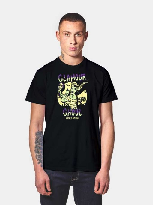 Glamour Ghoul Murder Apparel Halloween T Shirt