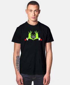 Grinch Hand Love Choose Kind T Shirt